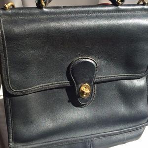Genuine COACH - crossbody/messenger leather bag